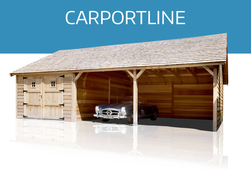 Carports | Yvan Christiaens Tuinhuizen | carportline