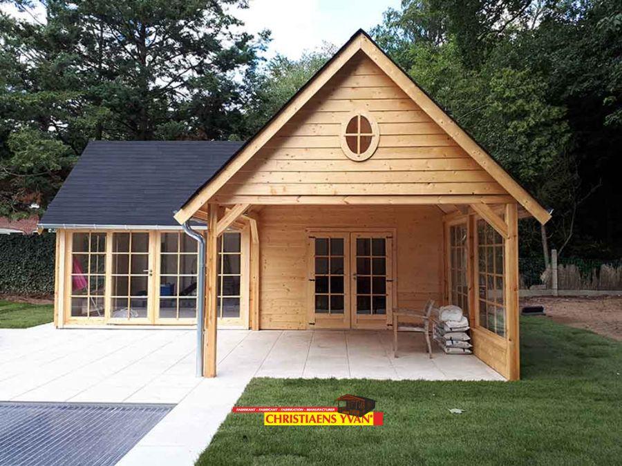 Cottage Tuinhuis Landelijke Stijl Yvan Christiaens Cottageline