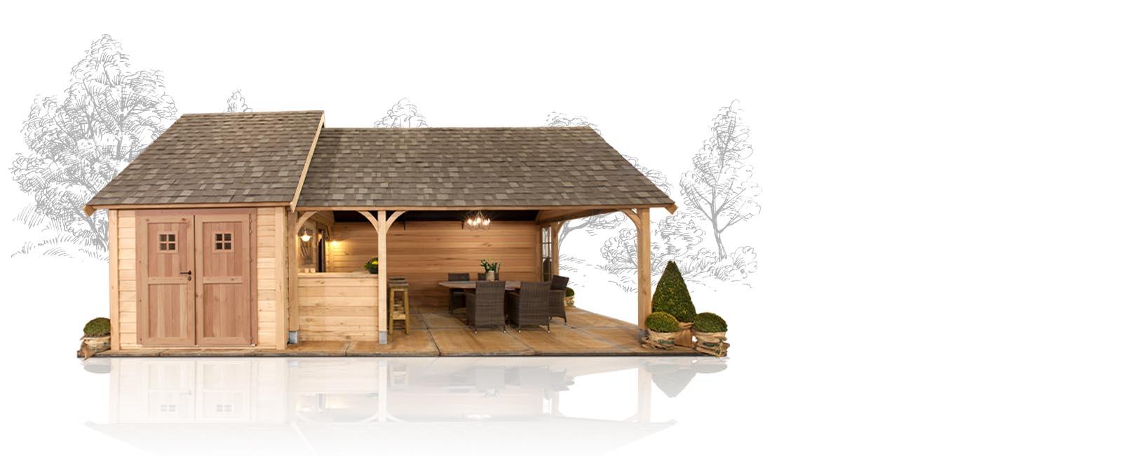 Besoin d\'un abri de jardin en bois, une cabane, un chalet ou un ...